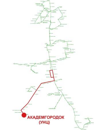 Троллейбусный маршрут № 14